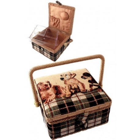 1T. Cloth square sewing kit «Dogs»