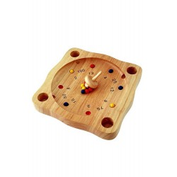 1T. Wooden «Crazy roulette» game