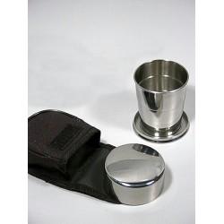 1T. Vaso metal plegable con funda textil