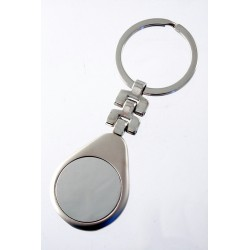 1T. Round keyring metal with origin case
