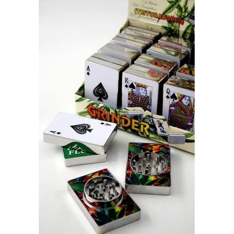 5T. Display with 12 Card grinders Kañamero