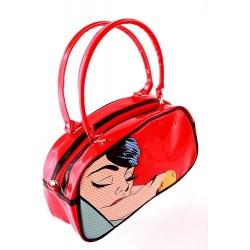 5T. «Kiss» red handbag