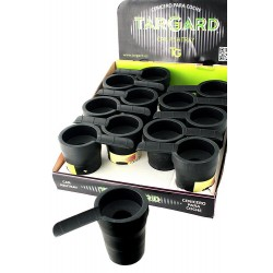 5T. Display with 12 car ashtrays with support cigarette