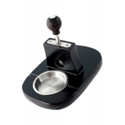 1T. Ashtray/Cigar Cutter metal/wood