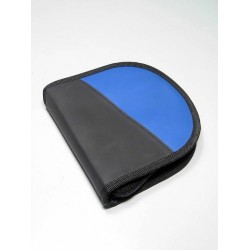 5T. Estuche porta Cd´s azul para 12 uds.
