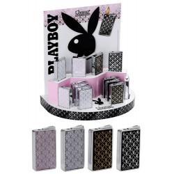 3T. Expositor con 12 encendedores piezo «Playboy»