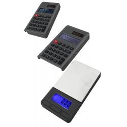 5T. Báscula digital de precisión negra con calculadora (0,01 grs a 200 grs.)