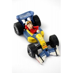 1T. Decorative moneybox «F1 car»