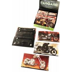 1T. Expositor con 12 bolsas «TG» para picadura modelo «Motos» surtidas