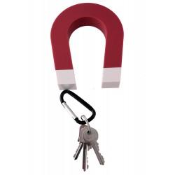 1T. Cuelgallaves rojo/blanco magnético