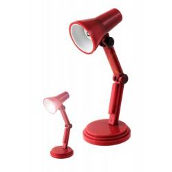 1T. Lámpara roja mini para lectura