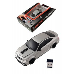 5T. Silver Bluetooth mouse «Mercedes-Benz C63 AMG Coupe»