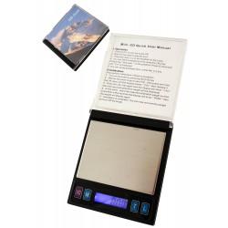 1T. Báscula de precisión «Funda Mini Disk» (0,01g -100 g.)