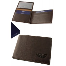 3T. Mahogany leather wallet «Limus»