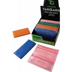 4T. Expositor con 12 bolsas «TG» para picadura en colores surtidos