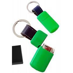 1T. Llavero/encendedor piezo verde «TG» (22260)