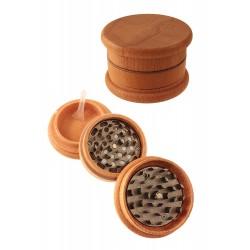1T. Ø6,5 x 3,9 cm.  Wood and metal grinder of 3 parts