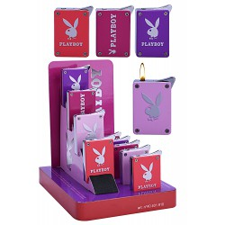 3T. Display with 9 piezo lighters «Playboy»