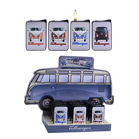3T. Display with 12 piezo lighters «VW»