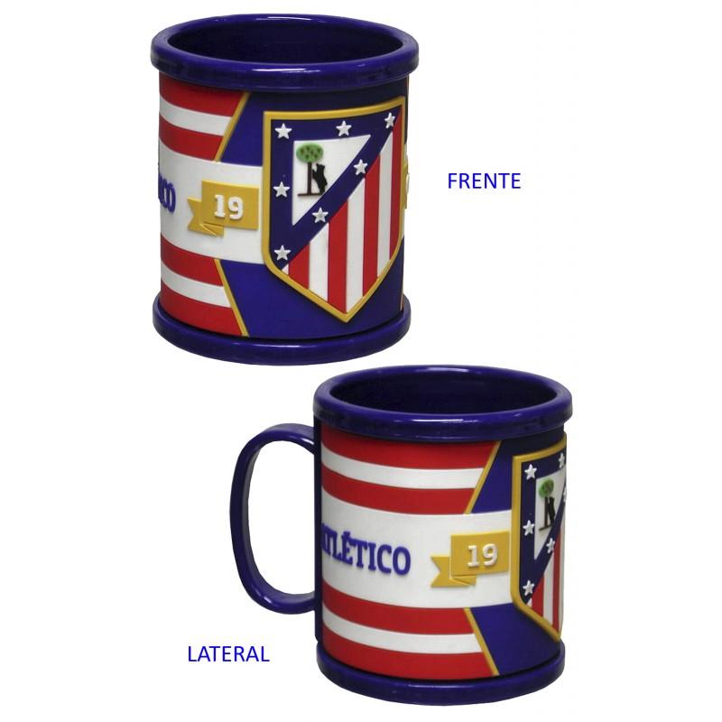 Rubber mug 3D «Atlético de Madrid». Loading zoom 7e052b4b27d90