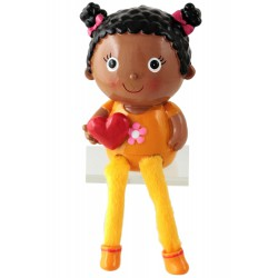 1T. Black girl money box