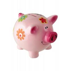 1T. Pink pig money box