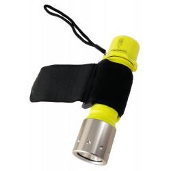 1T. Linterna deportiva  de led con con correa regulable de velcro