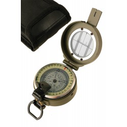 1T. Green compass with case