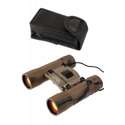 1T. Binocular con camuflaje de arena 10 x 25, con lentes ámbar