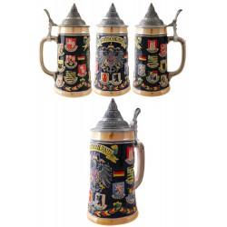 2T. Decorative beer mug 700 ml.  «DEUSCHLAND» Shields