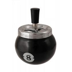 1T. Cenicero automático de mesa en metal «Bola 8»