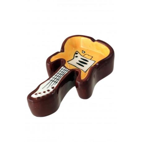 1T. Cenicero de mesa guitarra eléctrica