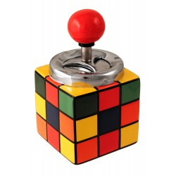1T. Automatic ashtray of table «Rubik cube»