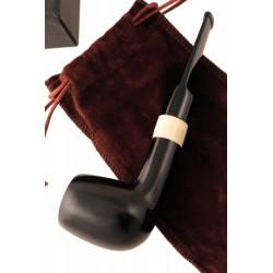 1T. Cachimba madera de ébano negro 6