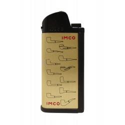 3T. Encendedor «IMCO» Chic 4 pipe Flint gold Logo