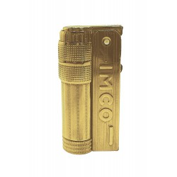 3T. Encendedor «IMCO» Super/Triplex Oil Brass gold Logo