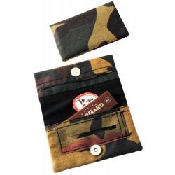 3T. Bolsa para picadura «Two days Mimetizado». Con librito papel de liar «TG CRAFT» 70mm./60 hojas