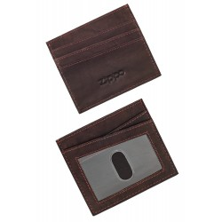 3T. Credit card holder «Zippo» Brown