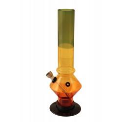 1T. 26 cm. Tricolor acrylic bong