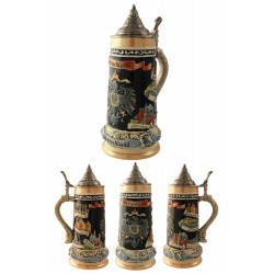 2T. Decorative ceramic mug beer 750 ml. «Deutschland».