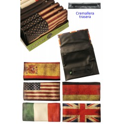 4T. Display «TG» with 12 acrylic assorted tobacco bags «Flag2». 5 models.