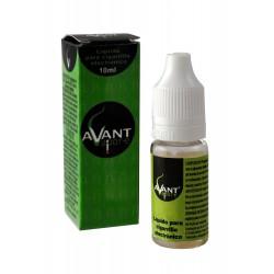 3T. E-liquid MENTHOL 0 mg. «AVANT» Envase con 10 ml.