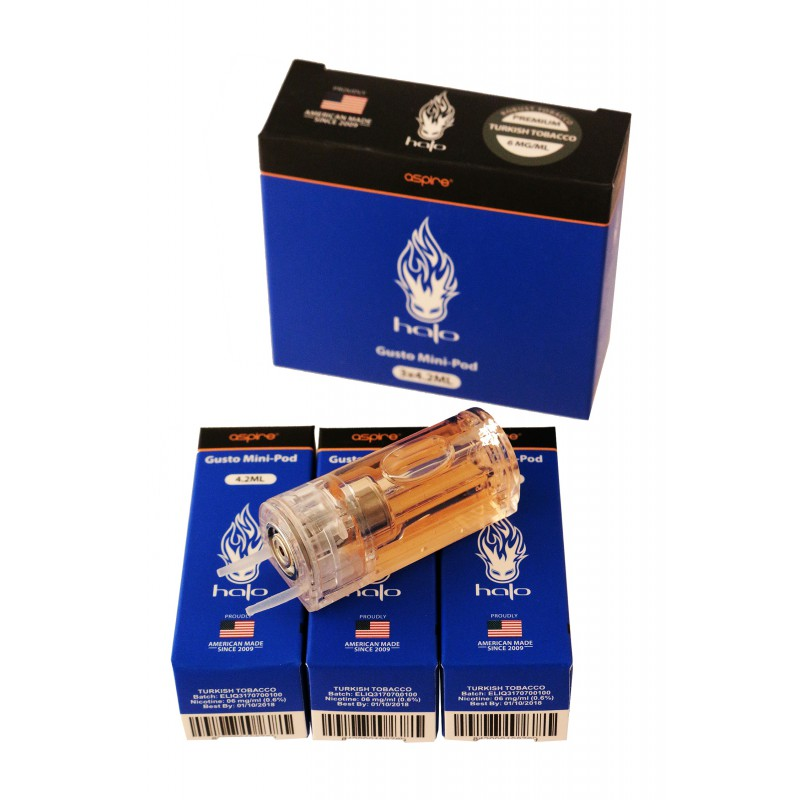 3T  Turkish tobacco flavor  6 mg  Pack of 3 «Turkish Tobacco