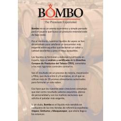 HOJA INFORMATIVA BOMBO