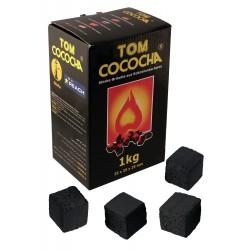 4T. Caja de 1 Kg. Carbón vegetal «TOM COCOCHA YELLOW»