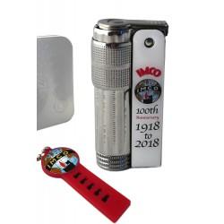 3T.Lighter «IMCO» Super/Triplex Oil 100th Anniversary white