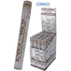 4T. Expositor con 24 conos preenrollados «Cyclone» sabor chocolate