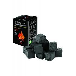 3T. Caja con 72 pastillas de carbón de cáscara de coco para shishas (72 cubos de 25 mm)
