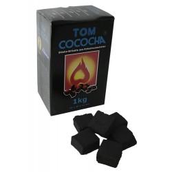 4T. Caja de 1 Kg. Carbón vegetal «TOM COCOCHA BLUE»