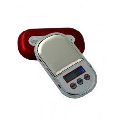 5T. Oferta.Báscula de bolsillo digital (0,01-80 Grs.) con tapa roja